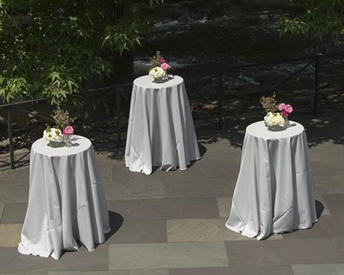 Party Rental Ltd. - Grey Pinstripe