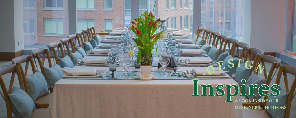 Design Inspires Luncheon - Party Rental Ltd
