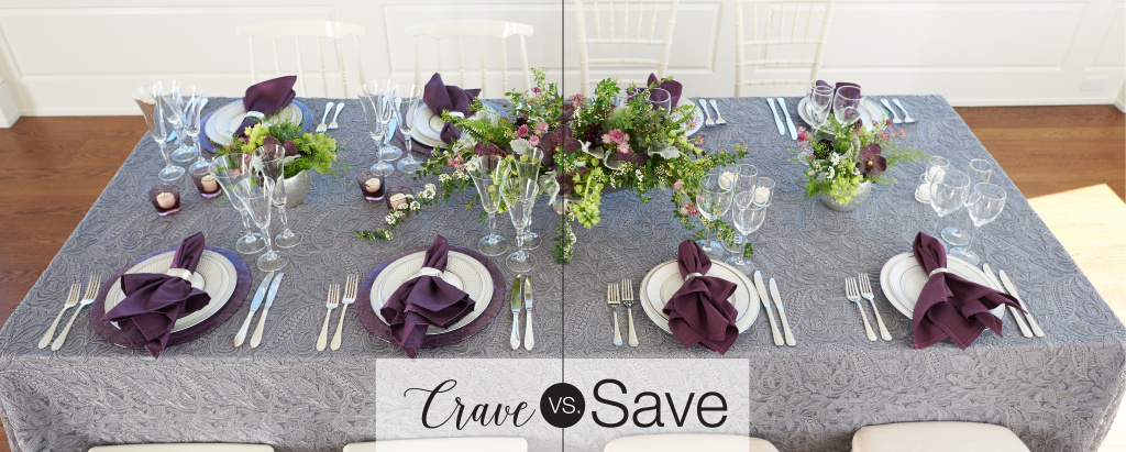 Party Rental Ltd - Crave vs Save - Kelsey Grey Lace