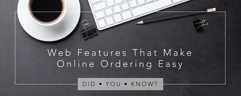 Party Rental Ltd. - Did You Know? Web Features That Make Online Ordering Easy