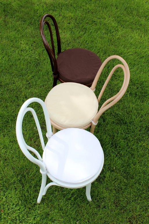 The Party Rental Ltd. Bentwood Chair Collection: Walnut Bentwood Chair ·  Birch Bentwood Chair · White Bentwood Chair